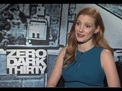 Jessica Chastain - Zero Dark Thirty Interview (HD)