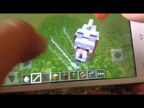 Minecraft:how to put name for your pet in minecraft pe(tutorial)