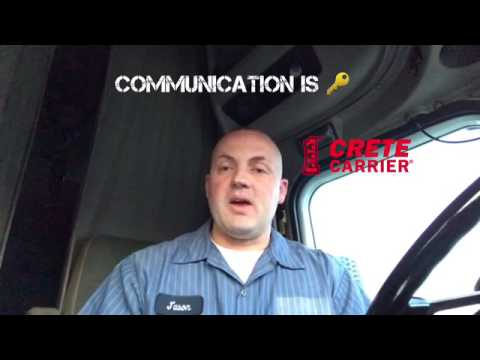 Crete Carrier Owner Operator and Company Driver Home Time Options