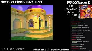 PSX Quest 16/1282 - Spyro 2: Ripto's Rage (1/3)