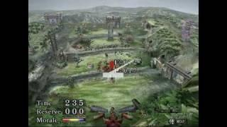 Odama GameCube Gameplay - Epic battle