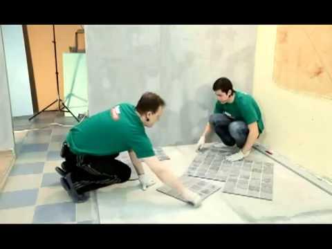 Укладка плитки своими руками фото на пол