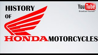 History of Honda Motorcycles