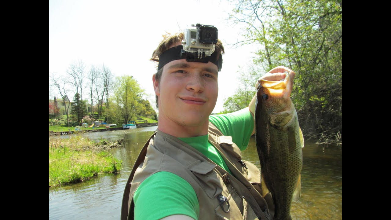Bass Fishing at South Ore Creek   Video  7