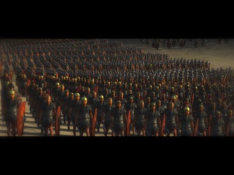 Battle of Carrhae 53 BC   Total War: Rome 2 historical movie in cinematic Rome vs Parthia