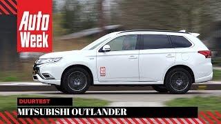 Afscheid duurtest: Mitsubishi Outlander PHEV