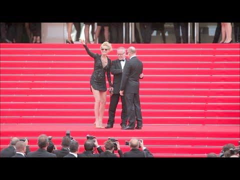 Cannes Festival 2014 Sharon Stone, Aishwarya Rai, etc...