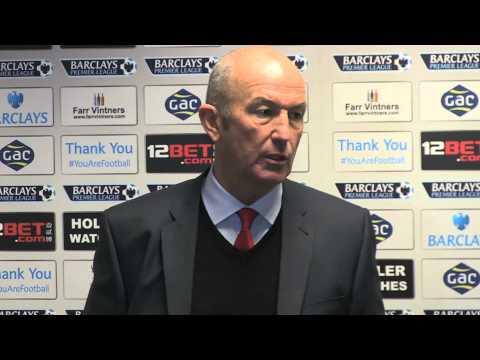 Tony Pulis after Crystal Palace v Newcastle - 21 12 2013
