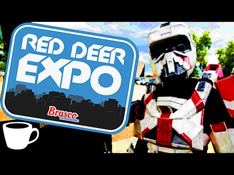 VLOG | Red Deer COMIC-CON (Red Deer Comic & Entertainment Expo)