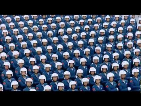 Китайцы парад победы на красной