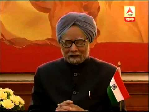 Manmohan Singh's speech towards nation