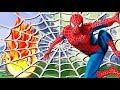 Видео для деей с игрушками Человек паук спасает лес Игрушечные мультики про машинки mp3