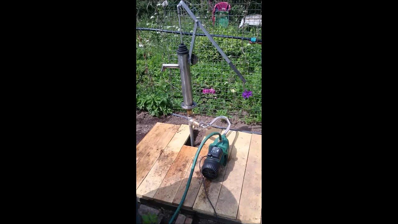 Ремонт садовых насосов своими руками 56