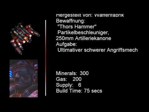 StarCraft 2 Thor German/Deutsch Quotes