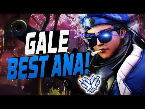 GALE PRO ANA! 34 ELIMS! [ OVERWATCH SEASON 8 TOP 500 ]