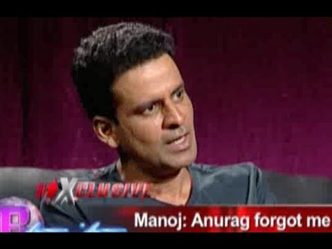 Manoj Bajpai talks about his equation with Anurag Kashyap
