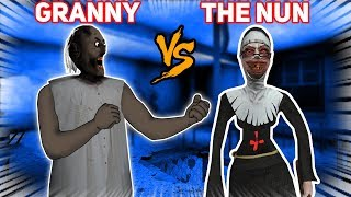 Is The *NEW* Nun STRONGER THAN GRANNY?!?! | Evil Nun Mobile Horror Game (New Update)