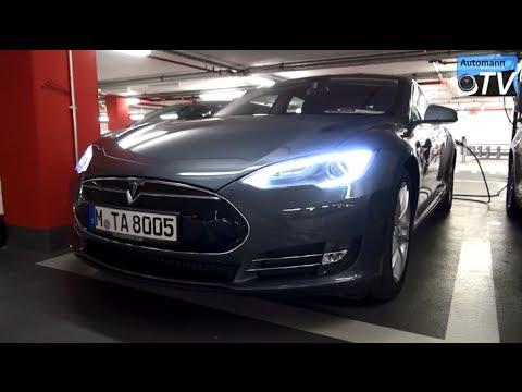 2014 Tesla Model S Performance (416hp) - DRIVE & SOUND (1080p)