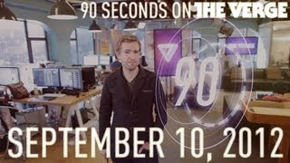 New iPhone, Kindle Fire ads, and more - 90 Seconds on The Verge_ Monday, September 10, 2012
