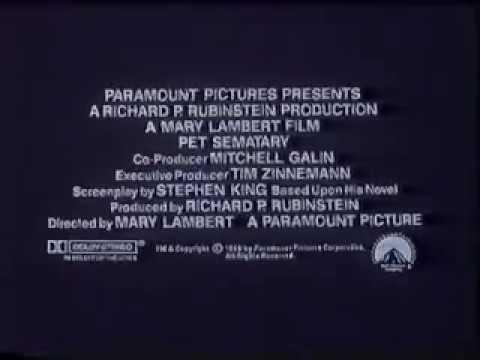 Pet Sematary Trailer (1989)