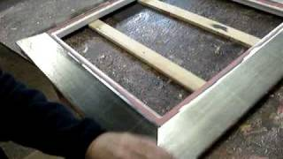 Frame Finishing - C&J Frame A827 Part 1