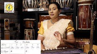 18. Learn how to play the Tabla | Learn 4 Thekas: Dadra, Jhaptaal, Tritaal and Deepchandi