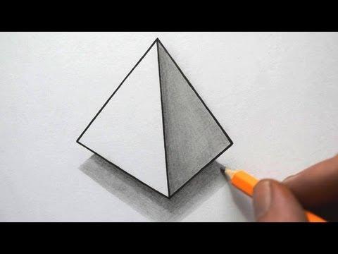 Как нарисовать иллюзию карандашом поэтапно