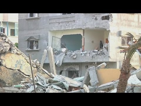 WATCH: Shocking aftermath of Israeli airstrike on Gaza strip