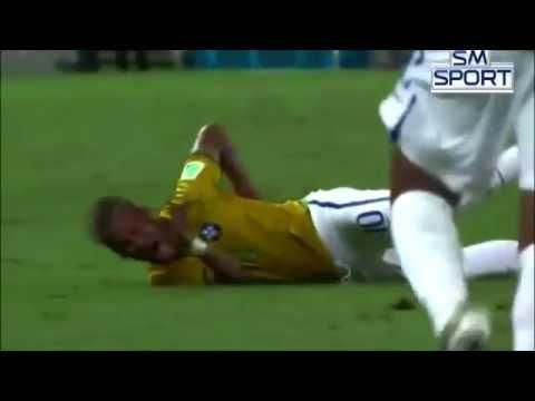 Neymar Back Injury Video. *Original Video*