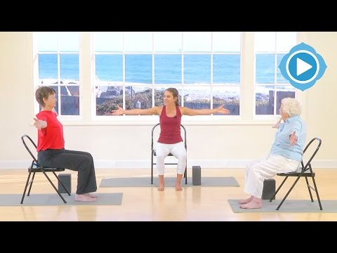 Head to Toe with Chair - Granny Yoga