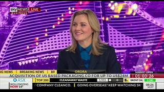Nerida Cole on geopolitical instability – guest host on Sky News Business