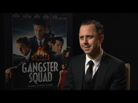 Giovanni Ribisi - Gangster Squad Interview HD