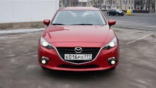 Тест драйв Mazda 3 2015 1.5 120 л.с. 6АКПП + замер разгона 0-100