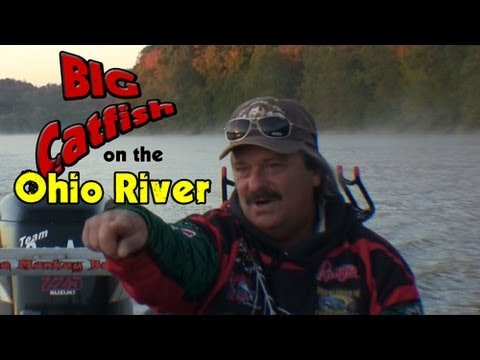 Lost footage big catfish caught on the ohio river youtube for Ohio out of state fishing license