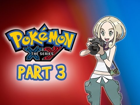 Pokemon X and Y Gameplay Walkthrough Part 3 - Gym Leader Viola Santalune City (3DS Commentary)