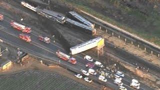 Passenger train accident in Oxnard, Ca.