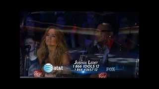 "Jennifer Hudson Video - American Idol - Joshua Ledet ""You Pulled Me Through"" by Jennifer Hudson"