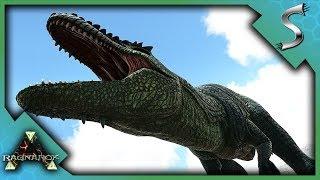 WE GOT RAIDED & GIGANOTOSAURUS TAMING - Ark: Survival Evolved [Ragnarok PVP]