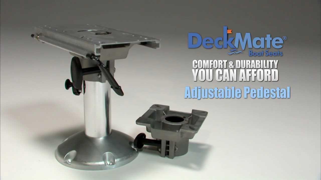 Deckmate Boat Seat Pedestals Youtube