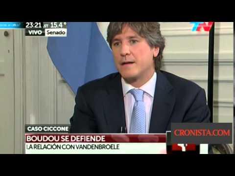 Amado Boudou fue a TN para defenderse por el caso Ciccone