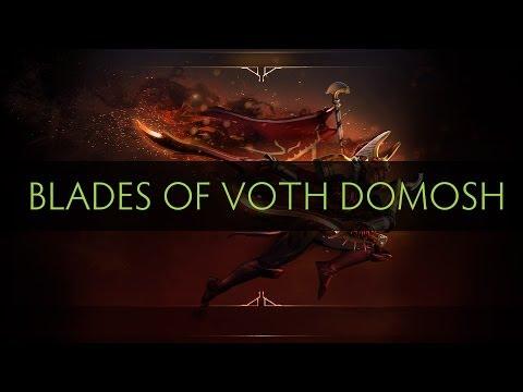 Dota 2 Legion Commander - Blades of Voth Domosh (Arcana item)