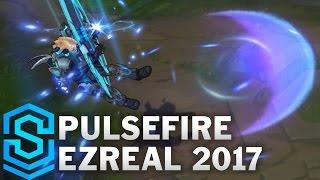 Pulsefire Ezreal (2017 Update) Skin Spotlight - Pre-Release - League of Legends