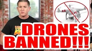 DRONES Just Got BANNED At These 401 Public Places: Photo NEWS Recap