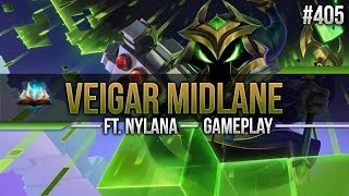 Veigar (Mid) ft Nylana #405 [Lets Play] [League of Legends] [German / Deutsch]