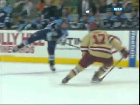 Boston college wins eleventh hockey east title with 4 1 win over maine