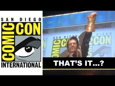 Comic Con 2014 - Marvel Panel featuring Avengers 2 Footage, Josh Brolin : Beyond The Trailer