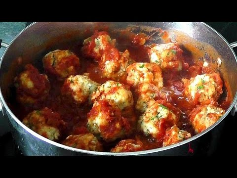 Ricotta Dumplings in tomato sauce recipe Meatballs