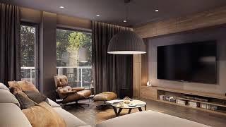 Living room Lighting → Ideas for modern room ➤ Living room furniture & Decor ➤ Interior design 2019