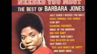 Barbara Jones - Angel Of The Morning