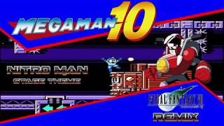 Nitro Man Stage - Mega Man 10 Final Fantasy 7 Remix